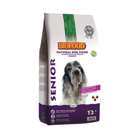 Photo de Croquettes Chien Senior Biofood