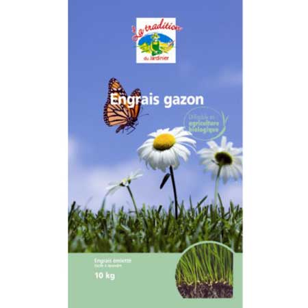 Photo de Engrais gazon 10Kg utilisable en agriculture biologique