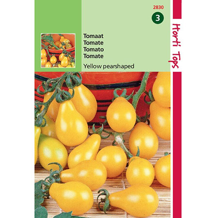 Photo de Tomate Yellow Pearshaped