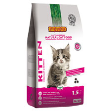 Photo de Croquettes Chaton Kitten Biofood