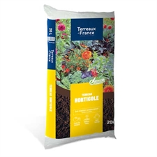 Photo de Terreau horticole 20L - utilisable en agriculture biologique
