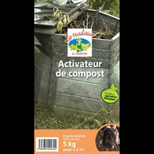 Photo de  Activateur de compost biologique le sac de 5 Kg